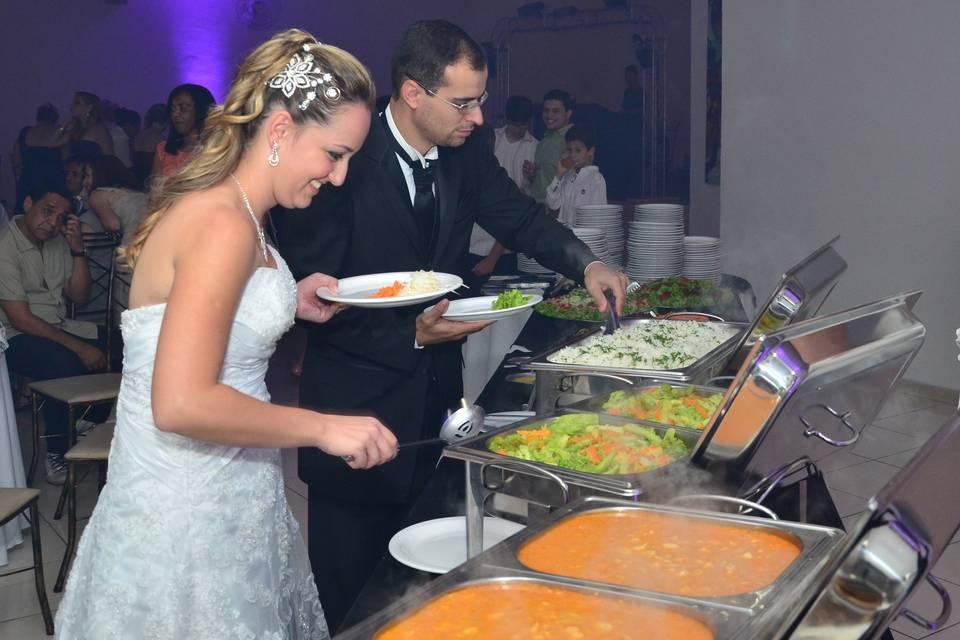 Buffet Caramelle