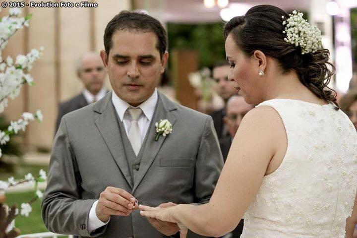 Casamento pra lá de charmoso!