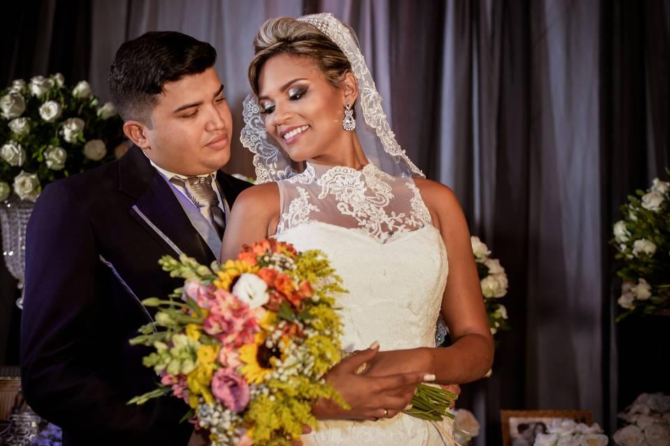 Paulo Junior & Kalyne Barreto