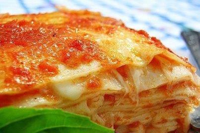 Lazagna alla salsa bolognese