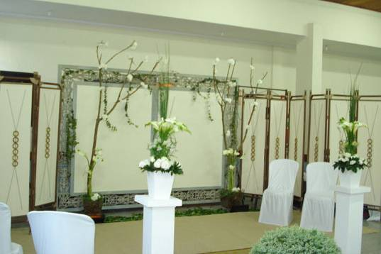 Belas decorações