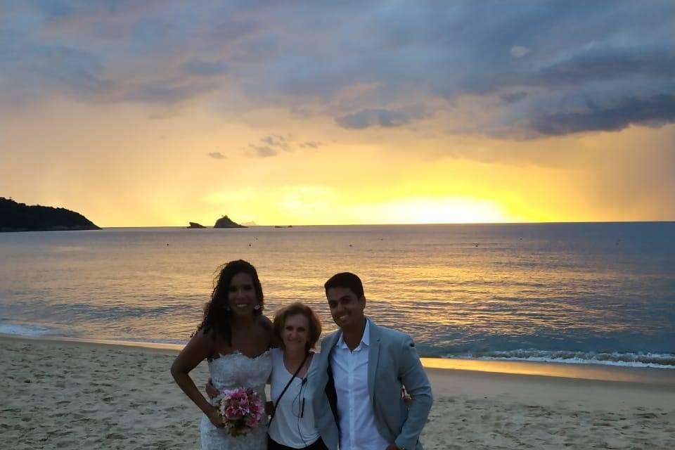 Casamento na Praia Toque Toque